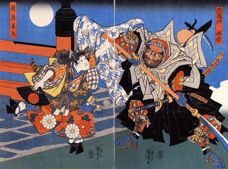 minamoto_no_yoshitsune_und_benkei_kaempfen_auf_der_gojo-bruecke_darstellung_von_kuniyoshi.jpg